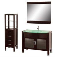 "Daytona 42"" Bathroom Vanity Set - Espresso A-W2109-42-ESP-SET"