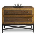 "Cole & Co. 44"" Designer Series Charleston Sink Chest - Two-tone Select Walnut 11.23.275544.72"