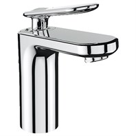 Grohe Veris Lavatory Single-hole Centerset M-Size with Pop-up Waste - Starlight Chrome GRO 23066000