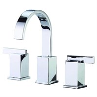 Danze Sirius 2H Widespread Lavatory Faucet w/ Metal Touch Down Drain 1.2gpm - Chrome D304144