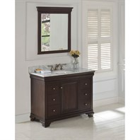 "Fairmont Designs Providence 42"" Vanity - Aged Chocolate 1529-V42"