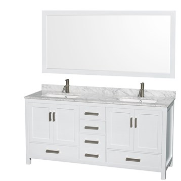 with set you mirror inch vanities save white home love double improvement bathroom vanity glossy olivia ll wayfair