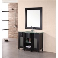 "Design Element Designer's Pick 43"" Bathroom Vanity - Espresso DEC010"