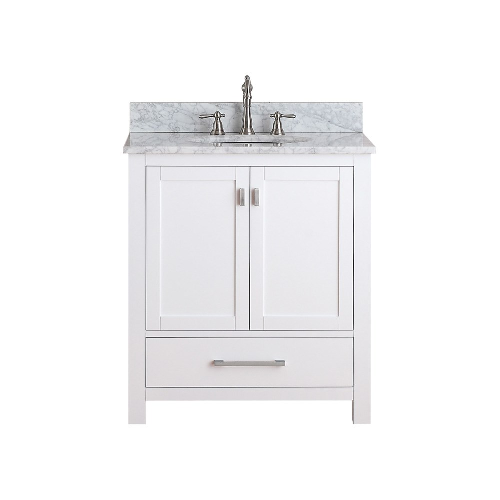 "Avanity Modero 30"" Single Bathroom Vanity - White"