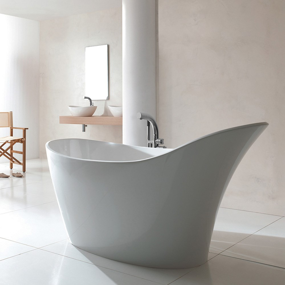 Amalfi Bathtub By Victoria And Albert Free Shipping
