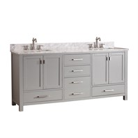 "Avanity Modero 72"" Double Bathroom Vanity - Chilled Gray MODERO-72-CG"