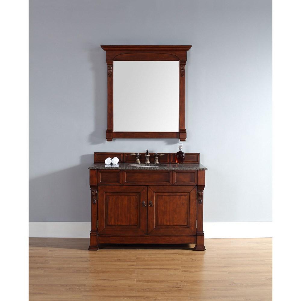 "James Martin 48"" Brookfield Single Vanity - Warm Cherrynohtin Sale $1013.00 SKU: 147-114-5281 :"