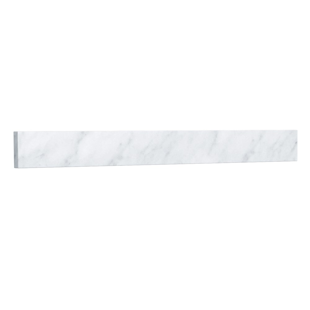 "Replacement 30"" Backsplash - White Carrara Marble REPL-WC-VCA-30-BS-CAR"