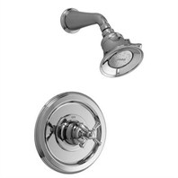 JADO Hatteras Pressure Balance Shower Set - Cross Handle 842450