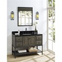 "Fairmont Designs Toledo 48"" Vanity with Doors - Driftwood Gray 1401-48_"