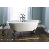 Cheshire Clawfoot Bathtub by Victoria and Albert CHE-N-SW + (CS2740)