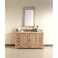 "James Martin 60"" Providence Single Cabinet Vanity - Natural Oak 238-105-5321"