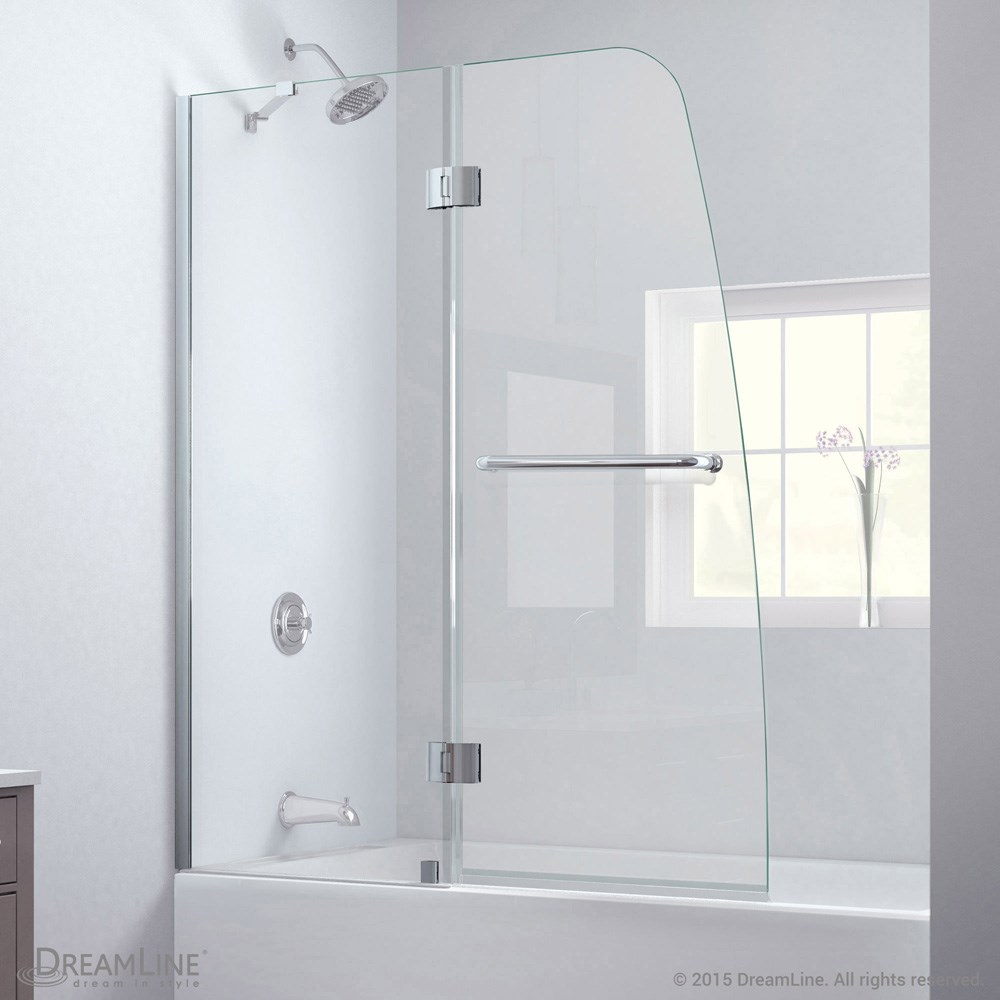 Bath Authority DreamLine Aqua Clear Glass Tub Door | Free Shipping ...