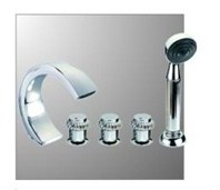 London 8 Bathroom Faucet - Chrome