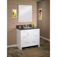 "Fairmont Designs Belleair Beach 36"" Vanity - High-gloss White 124-V36"