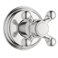 Grohe Geneva Trim Volume Control with Cross Handle - Infinity Brushed Nickelnohtin Sale $200.99 SKU: GRO 19829EN0 :