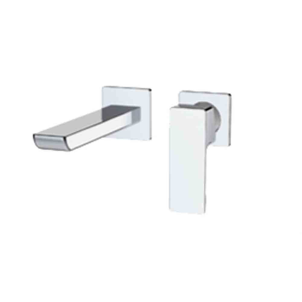 fluid Quad - Single Lever Wall Mounted Faucet Trim F16008T-