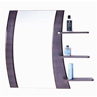 "ZHJ48 Bathroom Mirror with Shelves (32"" x 34"")"