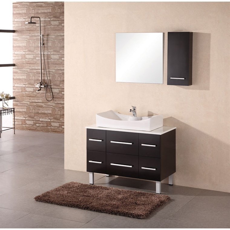 "Design Element Designer's Pick 36"" Bathroom Vanity - Espresso DEC012A"