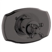 Grohe Seabury Pressure Balance Valve Trim with Cross Handle - Oil Rubbed Bronze