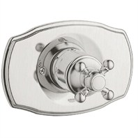 Grohe Geneva Pressure Balance Valve Trim with Cross Handle - Brushed Nickel