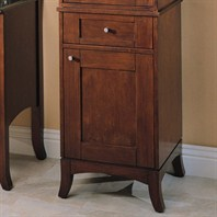 Fairmont Designs Lifestyle Collection Shaker Linen Base - Warm Cherry