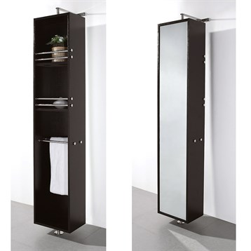 cabinet with mirror by wyndham collection espresso free shipping