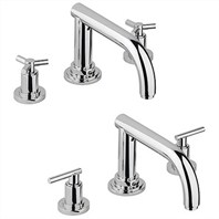 Grohe Atrio Roman Tub Filler - Starlight Chrome