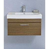 "Fairmont Designs Metropolitan 30"" Wall Mount Vanity & Sink Set - Ash Blonde 176-WV30"