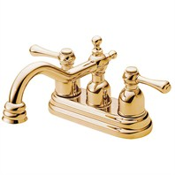Danze® Opulence™ Two Handle Centerset Lavatory Faucet - Polished Brass