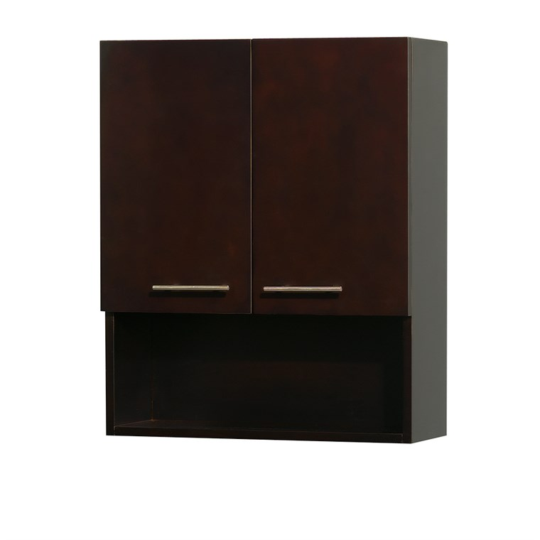Centra Bathroom Wall Cabinet by Wyndham Collection - Espresso WC-V207-WC-ESP