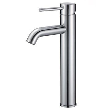 Tourno Tall Single-Hole Bathroom Faucet