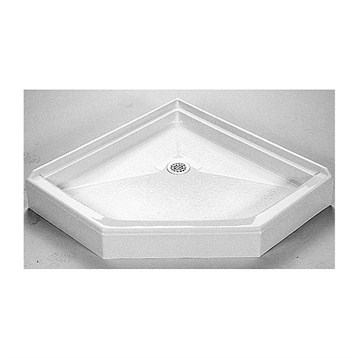 "MTI MTSB-42NA Shower Base, 42"" x 42"" by MTI"
