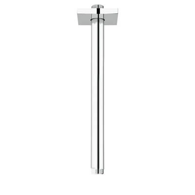 "Grohe Rainshower 12"" Shower Arm with Square Flange - Starlight Chromenohtin Sale $86.99 SKU: GRO 27487000 :"
