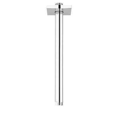 "Grohe Rainshower 12"" Shower Arm with Square Flange - Starlight Chromenohtin Sale $86.99 SKU: GRO 27487000 :"