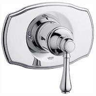 Grohe Geneva Pressure Balance Valve Trim Lever Handle - Starlight Chrome
