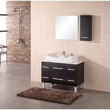 "Design Element Designer's Pick 36"" Bathroom Vanity, Espresso DEC012A by Design Element"