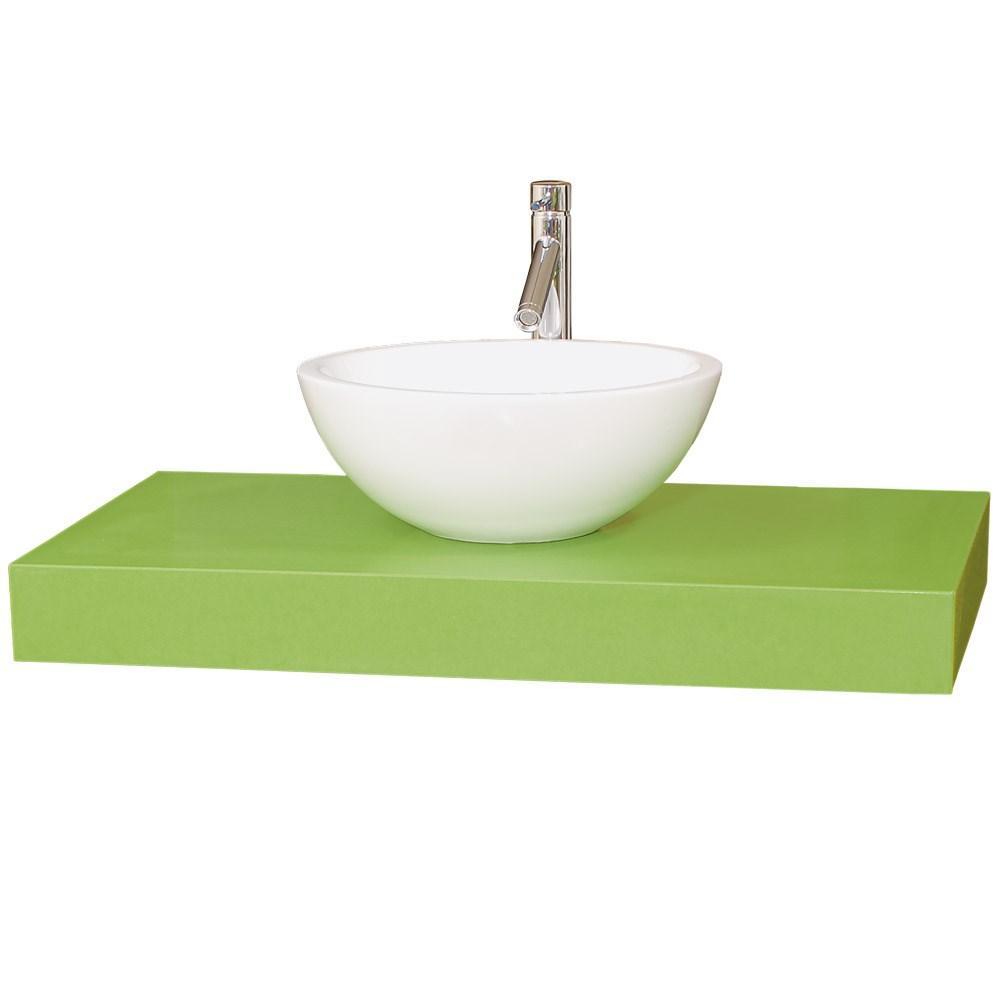 Shiro Custom Wall Mounted Bathroom Vanity Le Martini Caesarstone W Rondi Vessel Sink Free Shipping Modern