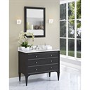 "Fairmont Designs Charlottesville 42"" Vanity for Undermount Oval Sink - Vintage Black 1511-V42_"