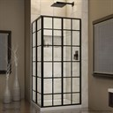 Bath Authority DreamLine French Corner 34-1/2 in. W x 34-1/2 in. D x 72 in. H Sliding Shower Enclosure SHEN-8134340-89