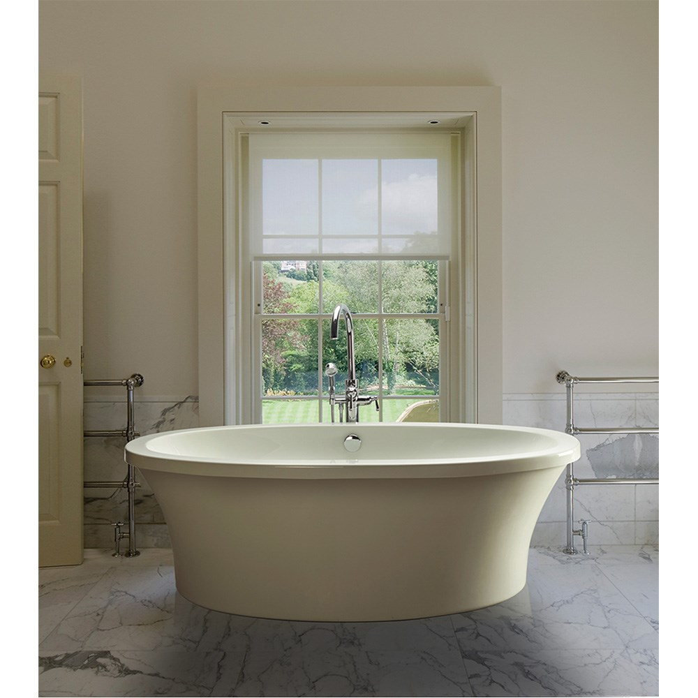 "MTI Basics Freestanding Bathtub (66"" x 36.75"" x 21.75"")nohtin Sale $2180.00 SKU: MBOFS6636 :"