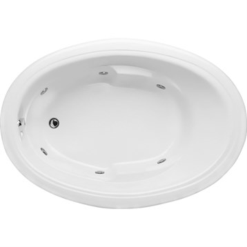 Hydro Systems Studio Oval 6042 Tub STO6042 by Hydro Systems