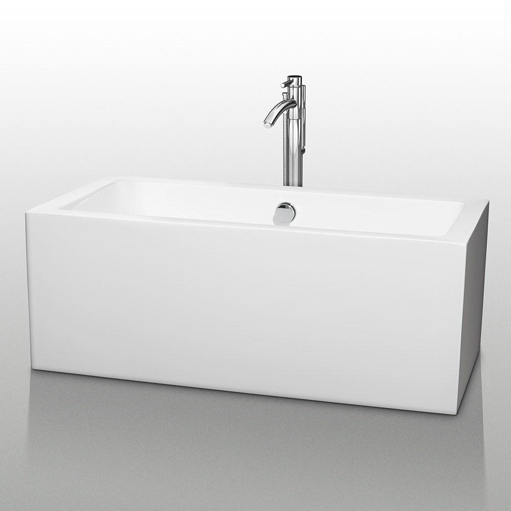 """Melody 60"""" Soaking Bathtub by Wyndham Collectionnohtin Sale $1499.00 SKU: WC-BT1011-60 :"""