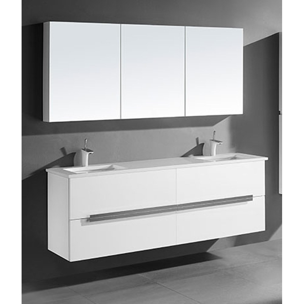 Madeli Urban 72 Quot Double Bathroom Vanity For Quartzstone