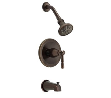 Danze Eastham Trim Only Single Handle Tub & Shower Faucet, Tumbled Bronze D501015BRT by Danze
