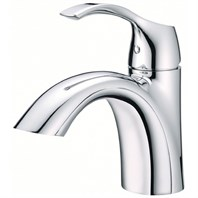 Danze Antioch 1H Lavatory Faucet Single Hole Mount w/ 50/50 Touch Down Drain 1.2gpm - Chrome D222522