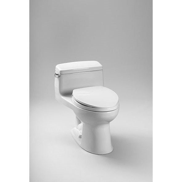 TOTO® Eco Supreme® High Efficiency One-Piece Toilet - Cotton White