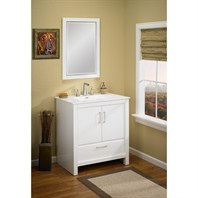 "Fairmont Designs Belleair Beach 30"" Vanity - High-gloss White 124-V30"