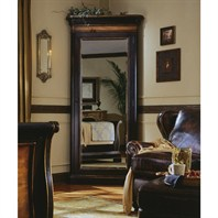 Cole & Co. Potomac Floor Mirror - Black Rub-Through