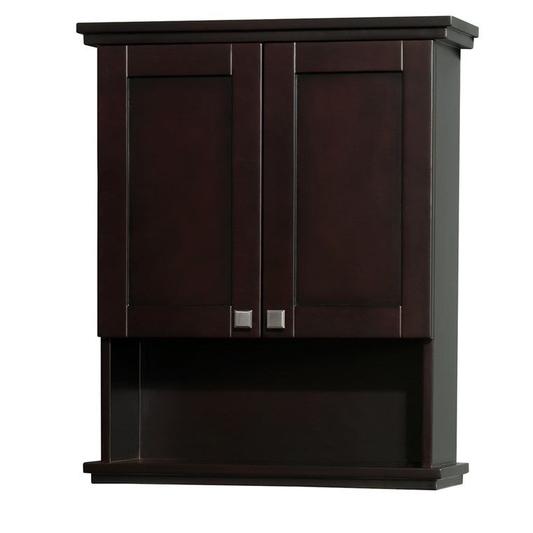 Acclaim Wall Cabinet by Wyndham Collection - Espresso WC-CG8000-WC-ESP